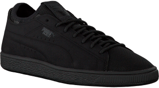 Zwarte Puma Sneakers BASKET CLASSIC SOCK LO MEN