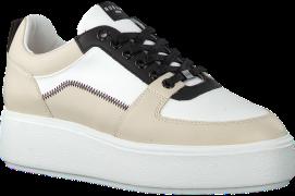 Witte Nubikk Lage Sneakers Elise Blush